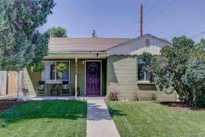 Denver Single Family Home Under Contract: 1695 Willow Street
