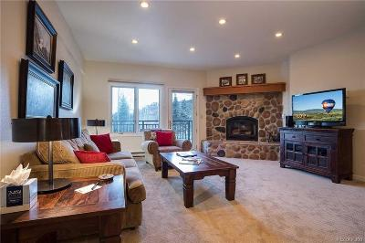 Steamboat Springs Condo/Townhouse Active: 2883 Burgess Creek Road #302