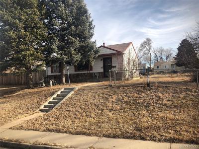 Denver Single Family Home Active: 820 Lowell Boulevard