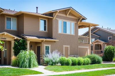 Commerce City Condo/Townhouse Active: 10480 Truckee Street #A