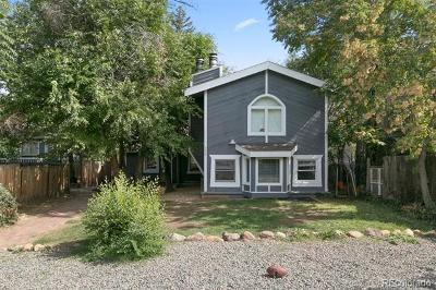 Boulder Single Family Home Active: 720 18th Street