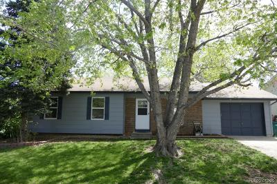 Morrison Single Family Home Under Contract: 4672 South Yank Street