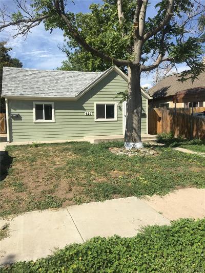 Denver Single Family Home Active: 629 King Street