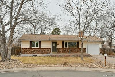 Arvada Single Family Home Active: 5125 Zinnia Court