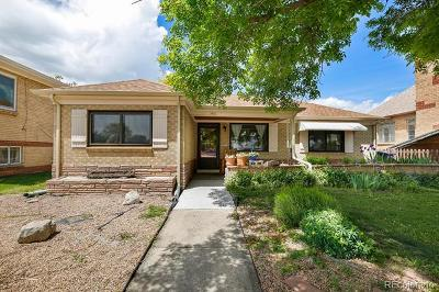 Denver Single Family Home Active: 1451 Zenobia Street