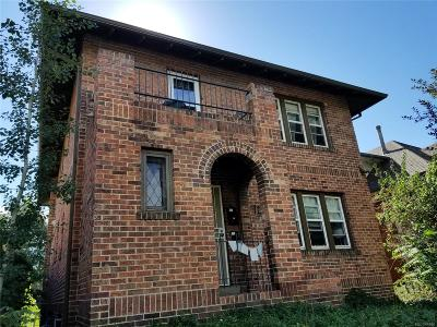 Denver Multi Family Home Active: 440 Clarkson Street