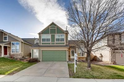 Castle Rock Single Family Home Under Contract: 875 South Lindsey Street