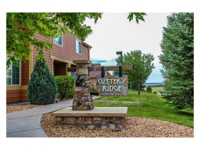 Castle Rock Condo/Townhouse Under Contract: 2639 Cutters Circle #102