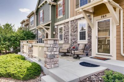 Castle Rock Condo/Townhouse Active: 765 Stony Mesa Place