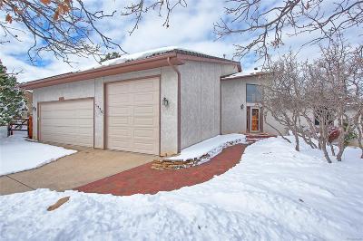 Colorado Springs Single Family Home Under Contract: 1770 Pinnacle Ridge Lane