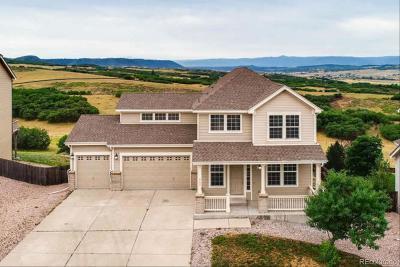 Castle Rock Single Family Home Under Contract: 862 Eaglestone Drive