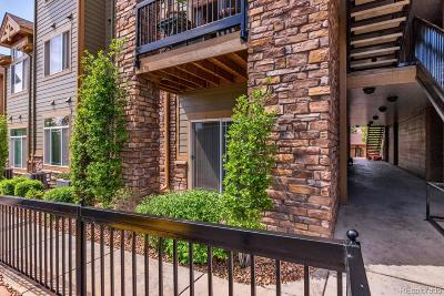 Littleton Condo/Townhouse Under Contract: 8778 South Kipling Way #106