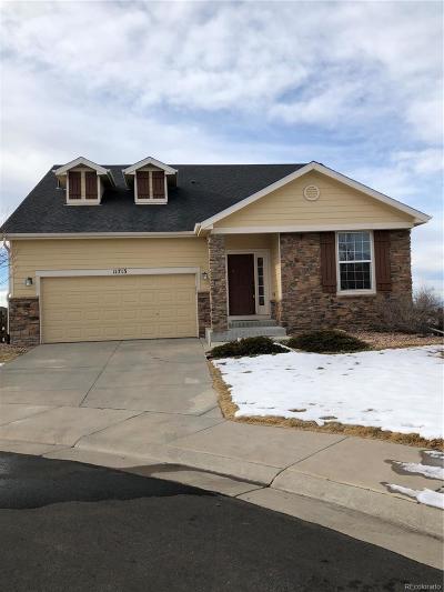 Parker Single Family Home Under Contract: 11713 Hale Court