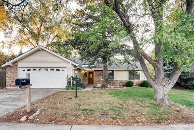 Westminster Single Family Home Under Contract: 10151 Zenobia Circle