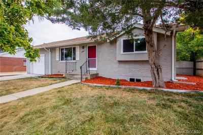 Northglenn Single Family Home Active: 11369 Downing Drive