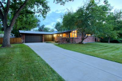Boulder Single Family Home Active: 4540 Comanche Drive