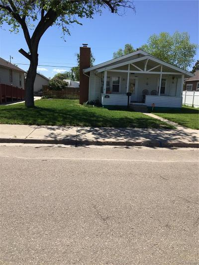 Fort Lupton Single Family Home Under Contract: 629 McKinley Avenue