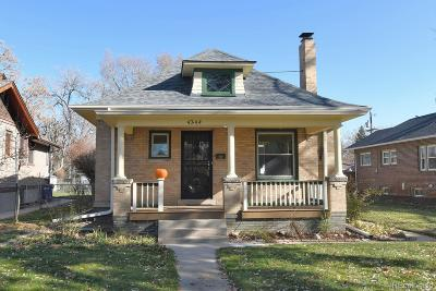Denver Single Family Home Active: 4244 Julian Street
