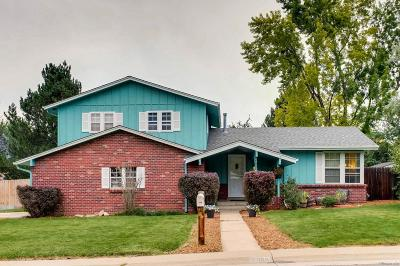Littleton Single Family Home Under Contract: 7908 South Marshall Street