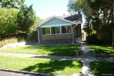 Denver Single Family Home Active: 2968 Raleigh Street
