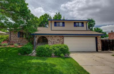 Littleton Single Family Home Under Contract: 13193 Canopus Drive