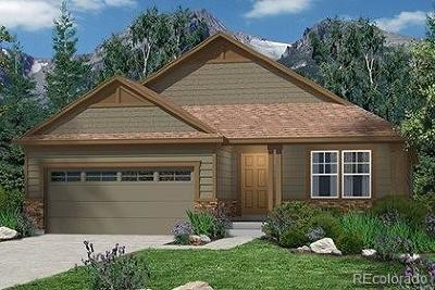 Castle Rock Single Family Home Under Contract: 365 Midden Place