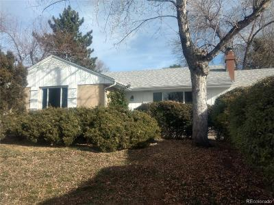 Denver Single Family Home Active: 3076 South Holly Place