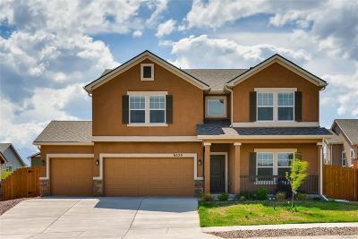 Colorado Springs Single Family Home Active: 6658 Edmondstown Drive