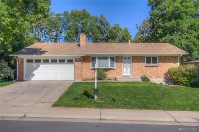 Denver Single Family Home Active: 6635 East Bethany Place