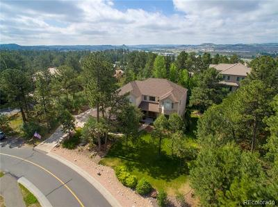 Douglas County Single Family Home Active: 580 Castle Pines Drive