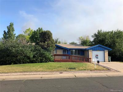 Northglenn Single Family Home Active: 1492 West 103rd Avenue