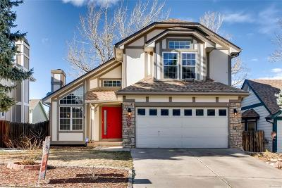 Littleton Single Family Home Active: 10299 Halleys Way
