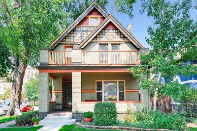 Denver Single Family Home Under Contract: 59 West Irvington Place