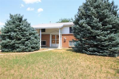 Aurora Single Family Home Under Contract: 3220 Billings Street
