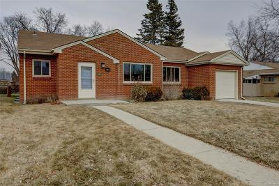 Broomfield Single Family Home Under Contract: 975 West 1st Avenue