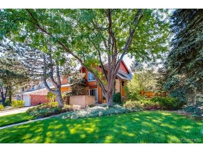 Englewood Single Family Home Active: 10572 East Orchard Place