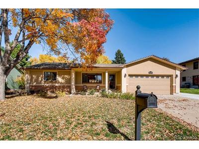 Arvada Single Family Home Active: 11517 West 76th Place