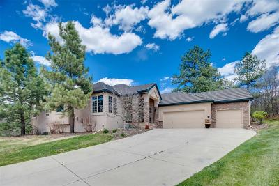 Castle Rock Single Family Home Under Contract: 3252 Country Club Parkway