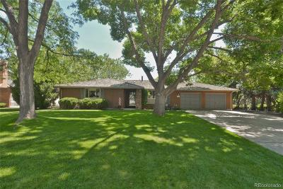 Longmont Single Family Home Under Contract: 1244 Fox Hill Drive