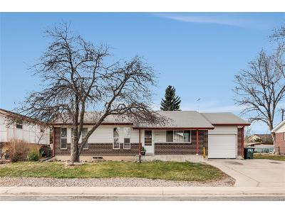 Northglenn Single Family Home Active: 11511 Gilpin Street