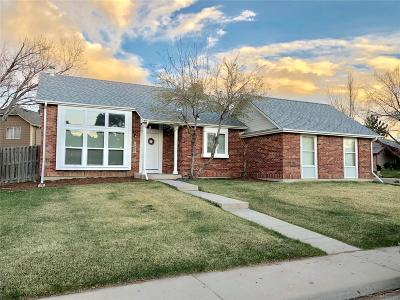 Denver Single Family Home Active: 4602 Biscay Street