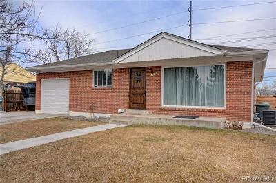 Northglenn Single Family Home Active: 11096 Pearl Street