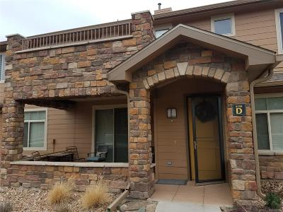 Highlands Ranch, Lone Tree Condo/Townhouse Under Contract: 8559 Gold Peak Drive #D