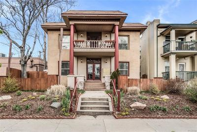 Denver Condo/Townhouse Active: 1760 North Franklin Street #9