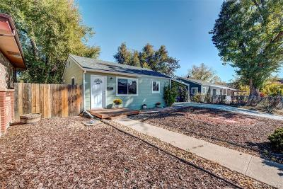 Denver Single Family Home Active: 250 South Zenobia Street