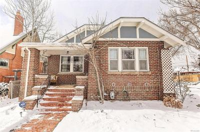 Denver Single Family Home Active: 2691 Clermont Street