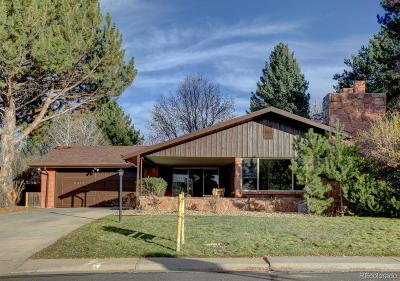 Denver Single Family Home Under Contract: 2338 South Jasmine Place