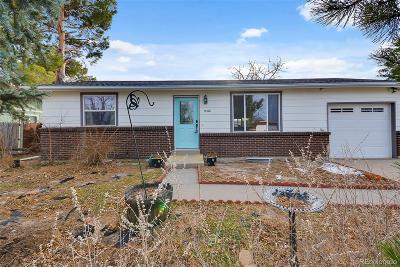 Aurora, Denver Single Family Home Under Contract: 15428 East Bates Avenue