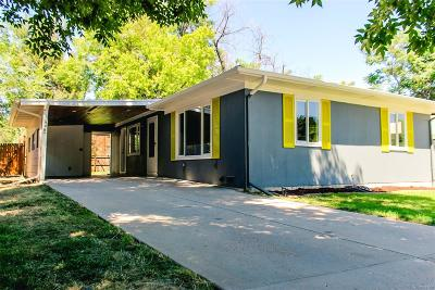 Denver Single Family Home Active: 1325 South Clermont Street