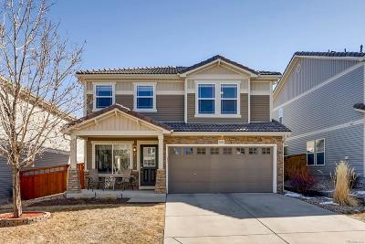 Castle Rock Single Family Home Under Contract: 2402 Quartz Street